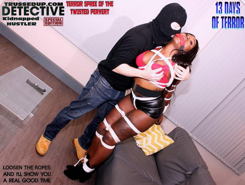 Cock sucking ebony skank hooker in rope bondage busty black women bound and gagged, ebony buxom hookers tied up, teens bound and ball gagged micro rubber mini skirts and pvc thigh high boots, hooker in tight rope bondage crotchroped ball gagged, teen babysitters daddys girls bound and gagged